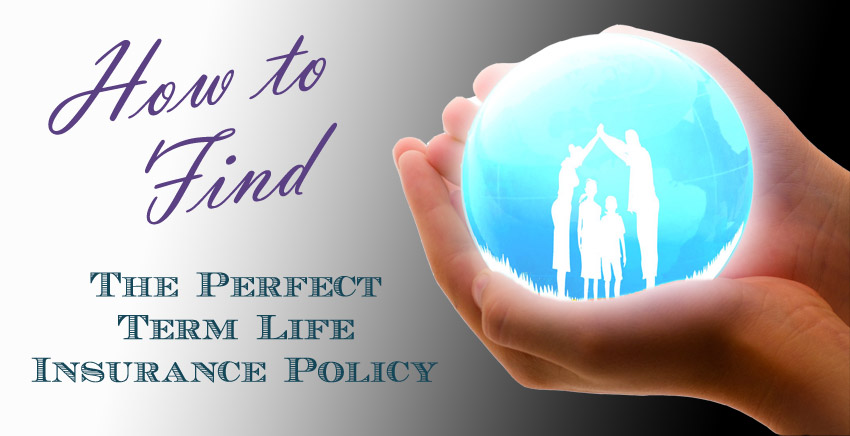 How to Find The Perfect Term Life Insurance Policy ...